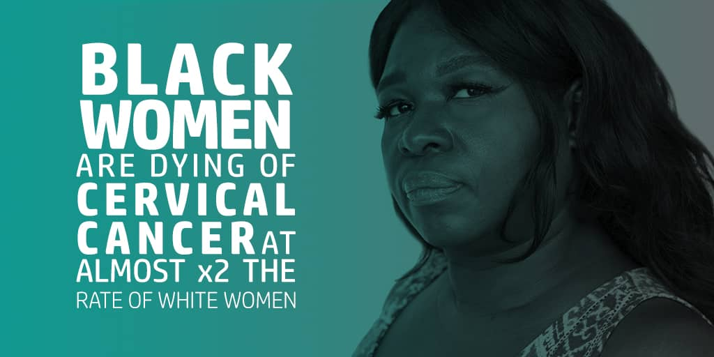 Black Women Cervical Cancer Death Rates 41% Higher than average