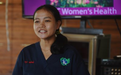 Championing empowerment and cervical cancer screening in Cambodia: Mercy Medical Center Cambodia