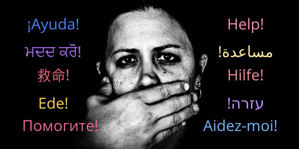 When US sexual assault survivors don't speak English