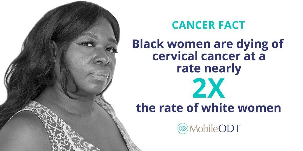 Black women are dying of cervical cancer at rate nearly 2x the rate of white women
