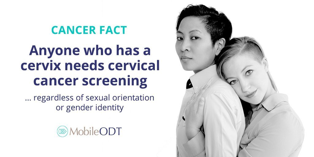 Anyone who has a cervix needs cervical cancer screening regardless of sexual orientation